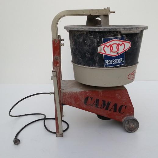 Mezcladora mortero mom camac mix ocasi n comprar en c - Mezcladora de mortero ...