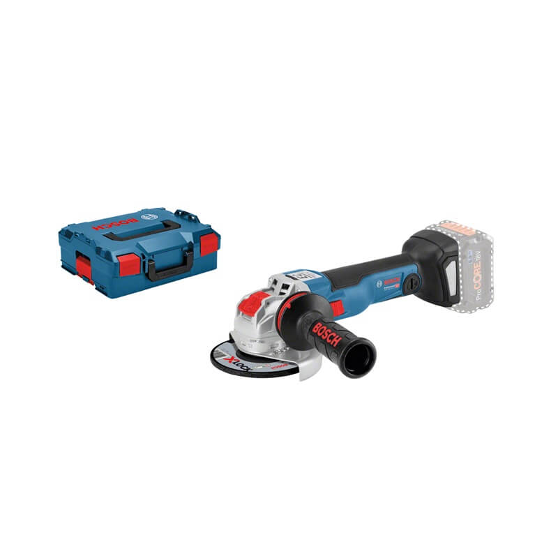 Miniamoladora a batería Bosch GWX 18V-10 C X-LOCK Professional