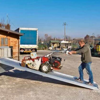 Monorampa con suelo pasarela 30.30.60 P (3000mm - 300kg) - Referencia 2303060