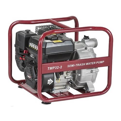 Motobomba gasolina Powermate Pramac TMP 32-2 de 530 l/min