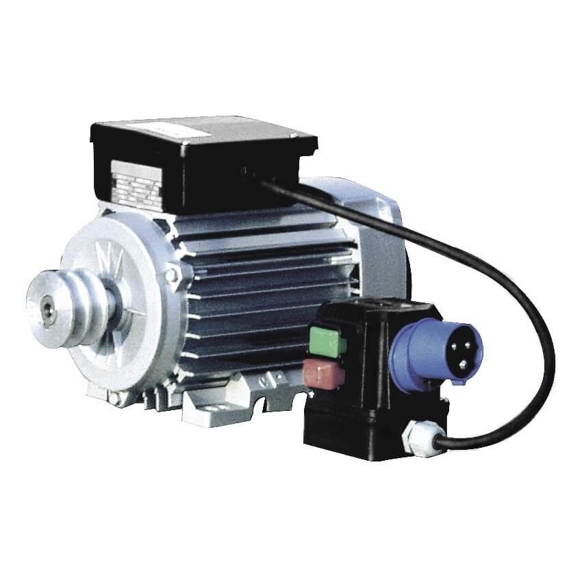 Motor hormigonera Inhersa monofásico (X-160) de 0,75CV