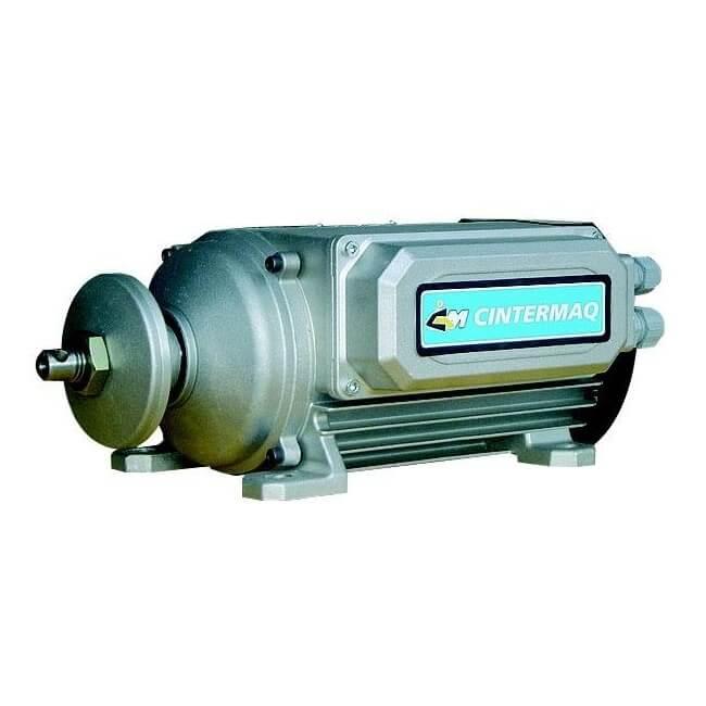 Motor eléctrico plano monofásico de 3CV con freno - Referencia 3700020
