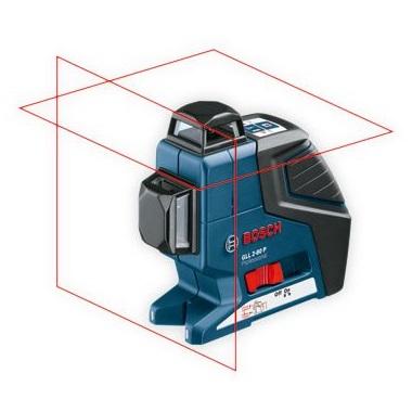 Nivel láser de líneas autonivelante Bosch GLL 2-80 P + Cargador pilas