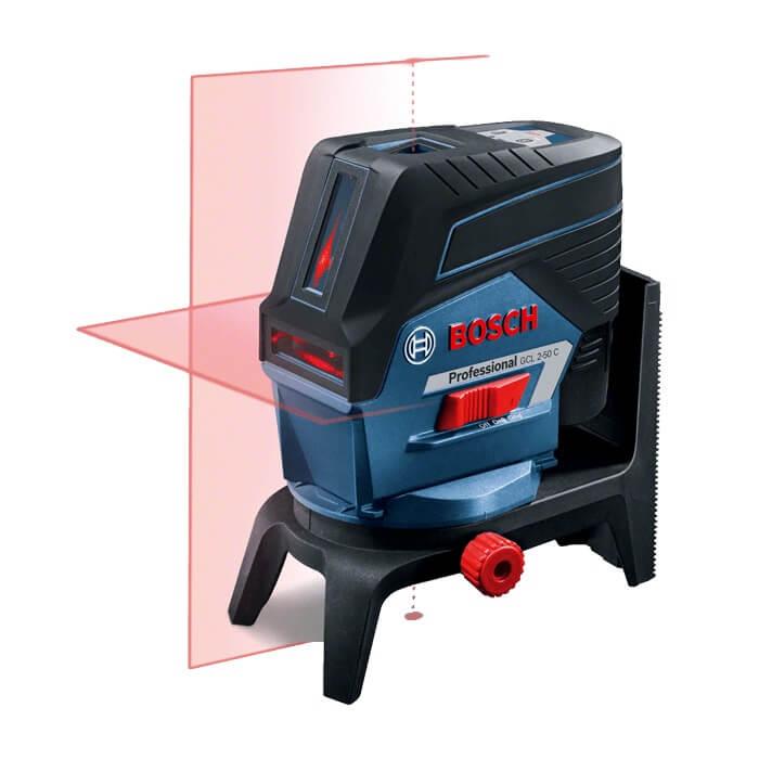 Nivel láser combinado autonivelante Bosch GCL 2-50 C + RM2 + AA1 Professional