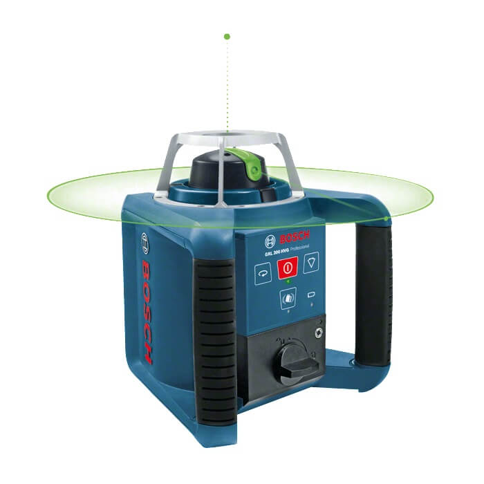 Nivel láser giratorio Bosch GRL 300 HVG + RC 1 + WM 4 + LR 1G Professional