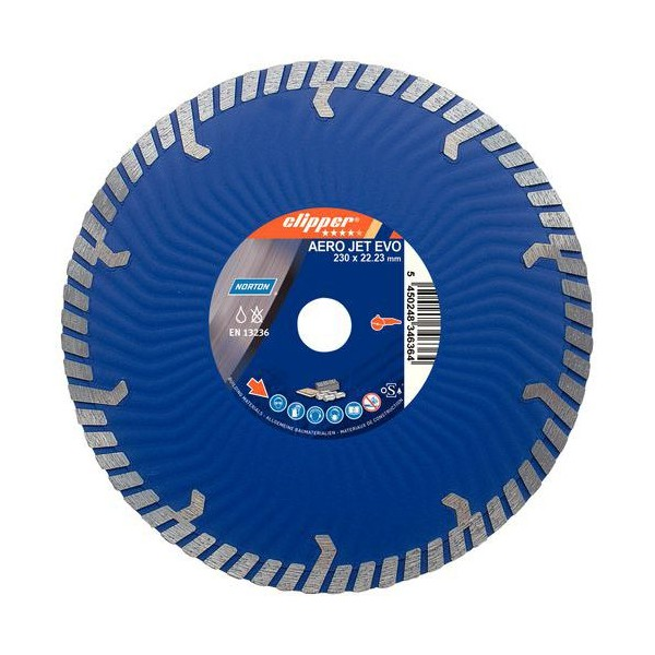 Disco diamante continuo Norton Extreme Universal Turbo - 115mm - Referencia 70184623598