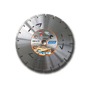 Pack 4 discos diamante segmentado Norton 4x4 Explorer - 230mm - Referencia 70184626211