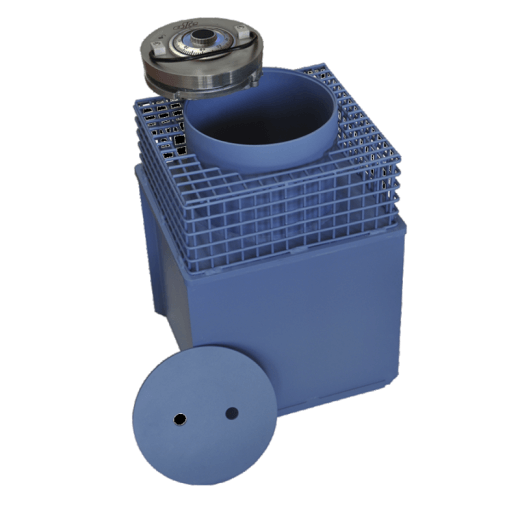 Caja fuerte camuflada de suelo con llave Olle Serie CFC CFC-2L - 435x305x285mm