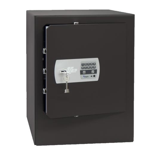 Caja fuerte de sobreponer combinación electrónica Olle Serie 1000 S1002E - 350x470x390mm