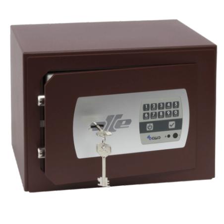 Caja fuerte de sobreponer electrónica con buzón Olle Serie 600 S601EL - 240x350x250mm - Referencia S601EL