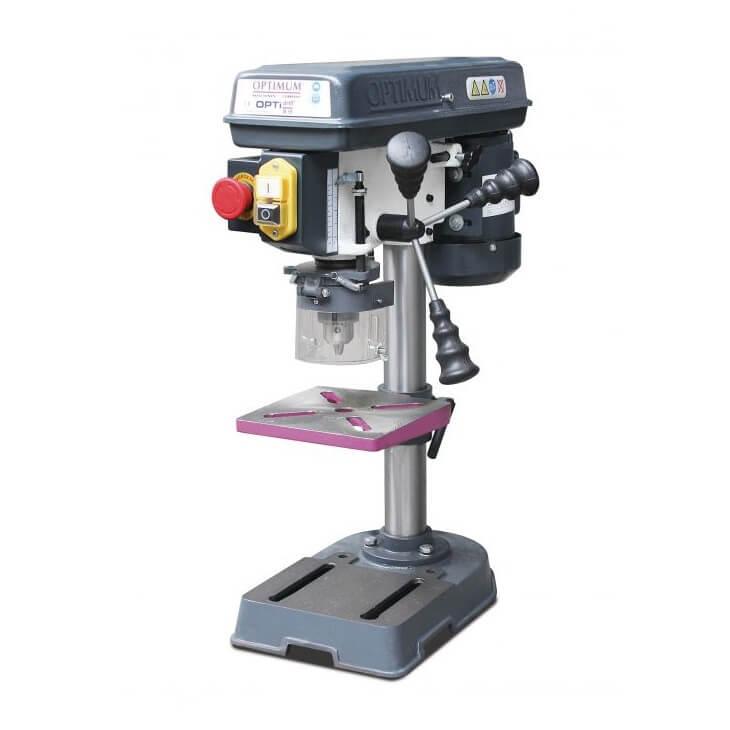 Taladro columna transmisión poleas Optimum B 13 basic - Monofásico - Referencia 3008013