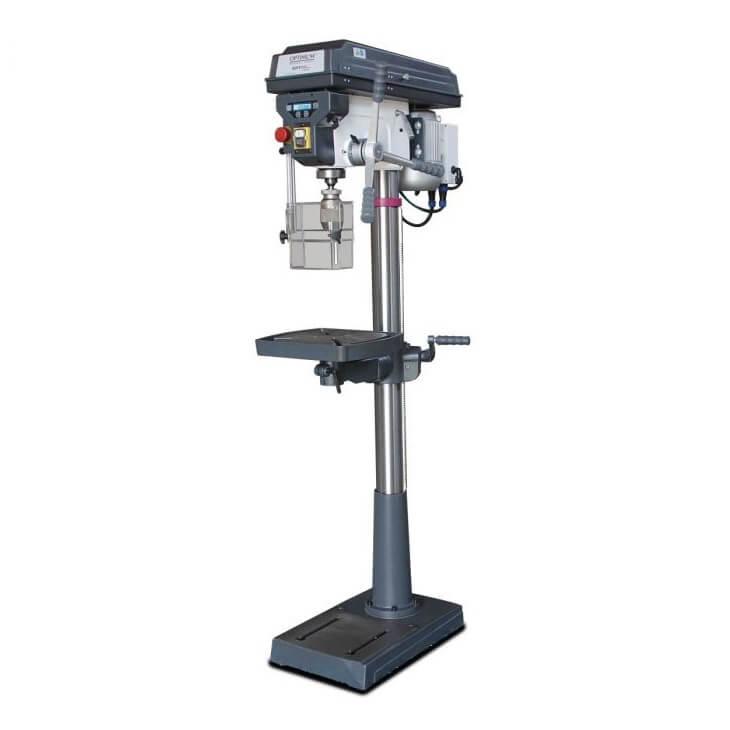 Taladro columna transmisión poleas Optimum D 26 Pro - Monofásico