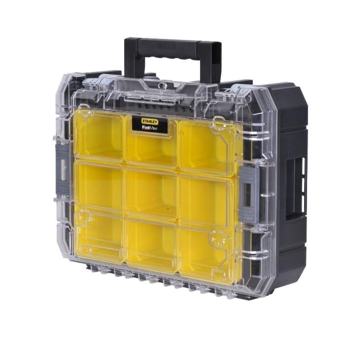 Organizador con tapa transparente TSTAK V Fatmax Stanley