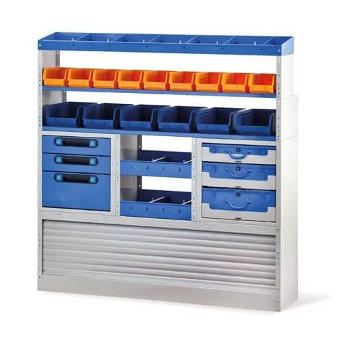Organizador espacios para vehículos Tecnolam 306