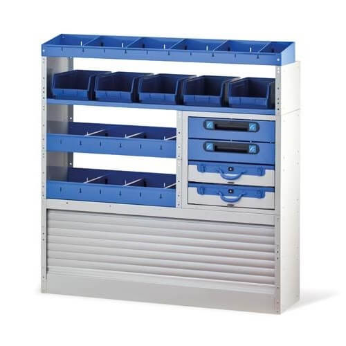 Organizador espacios para vehículos Tecnolam 307