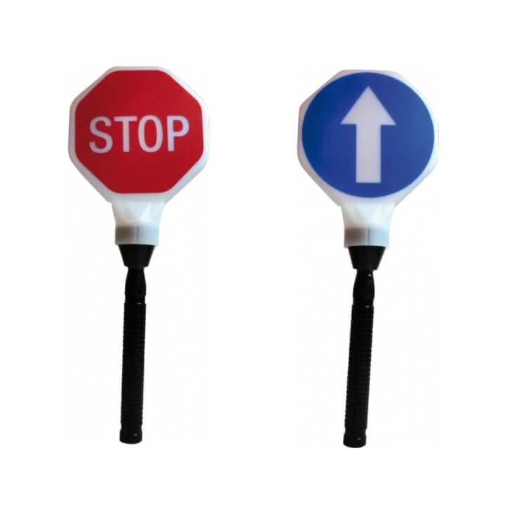 Paleta difusora 'Stop-Paso' para linterna Super-led Plus