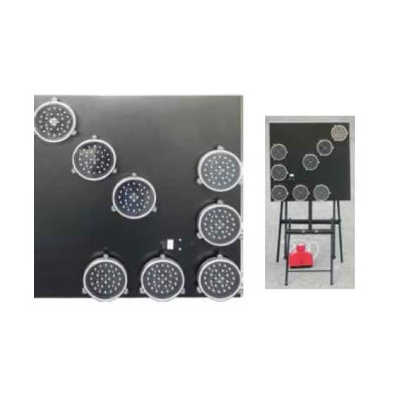 Panel direccional luminoso de señalización LED de 60x60cm (EN12352 L2H)
