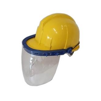 Pantalla facial completa con casco