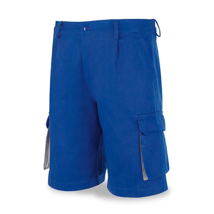 Bermuda multibolsillos 100% algodón azulina 488-S Top