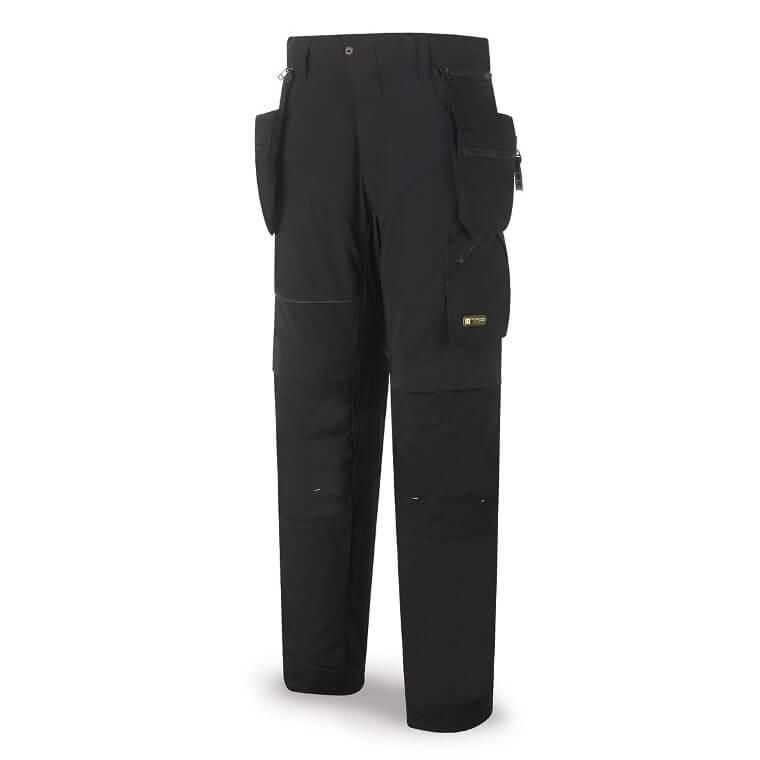 Pantalón multibolsillos PRO de 210gr negro 588-PP