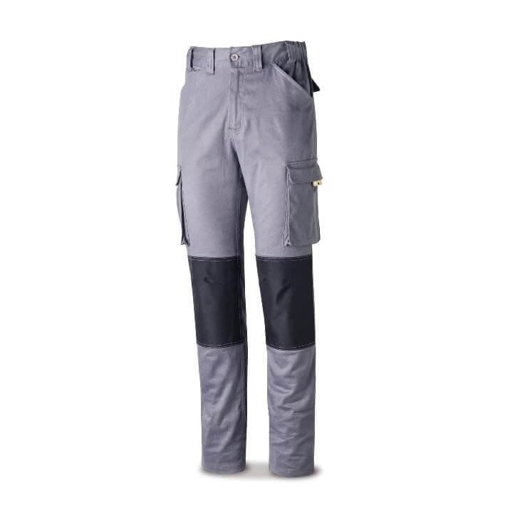 Pantalón StretchPro multibolsillo con refuerzo en rodillas gris 588-PSTRG - Referencia 588-PSTRG