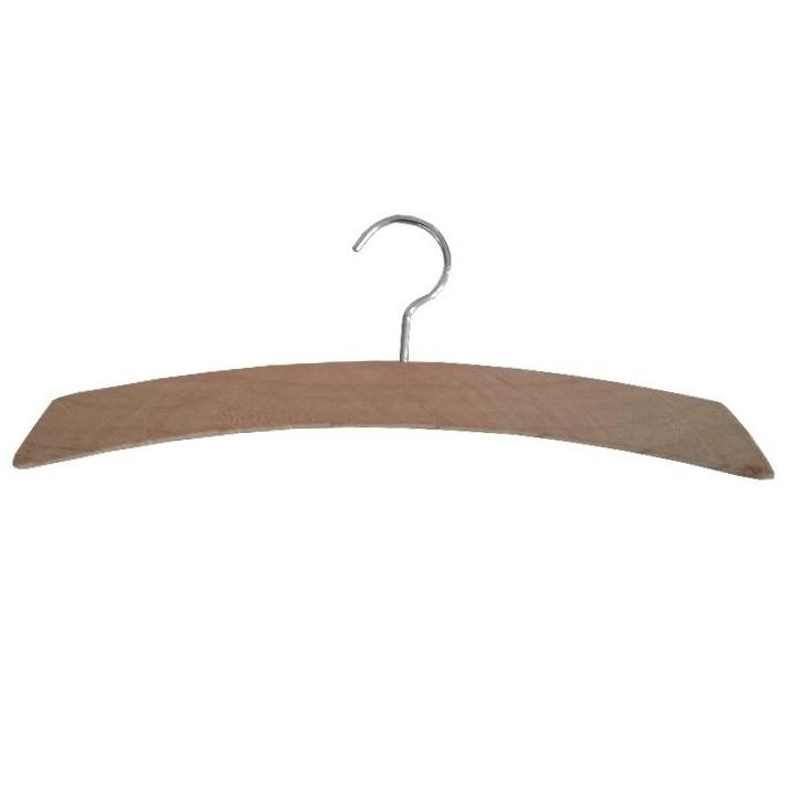 Percha arco madera para forrar de 26cm