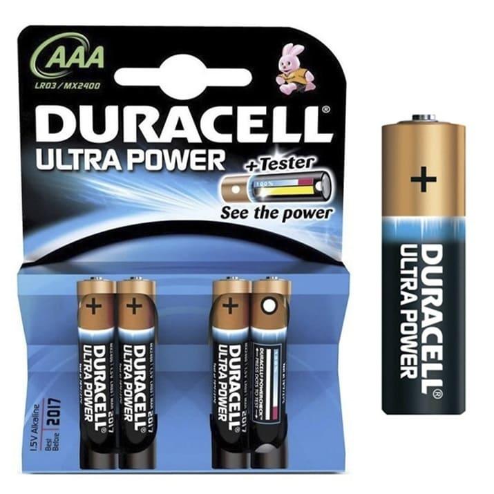 Pilas alcalinas DURACELL ULTRA POWER - AAA (Blister 4 unidades)