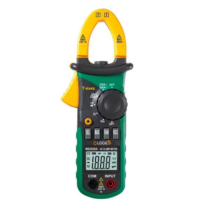 Pinza amperimétrica digital avanzada TRMS Acha