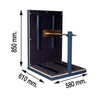 Plataforma placas solares para elevadores Camac Minor de 150kg - Referencia 5000109