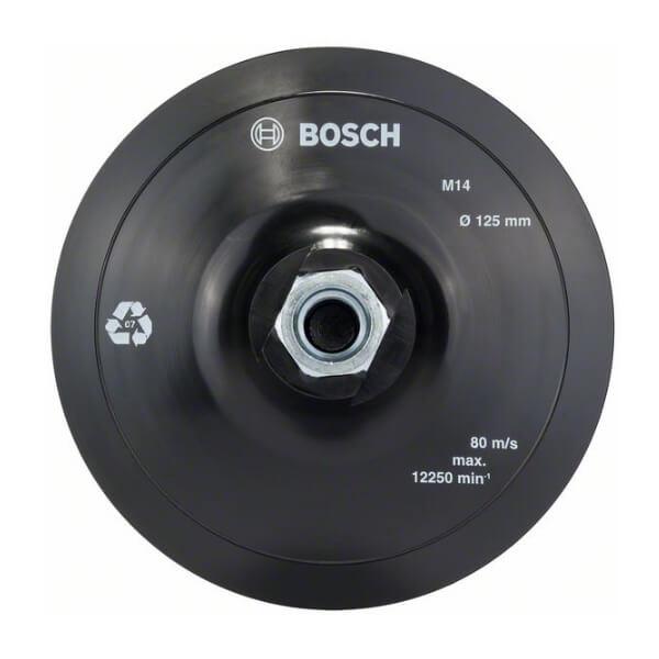 Plato de soporte de tipo velcro Bosch - 125 mm - Referencia 2608601077