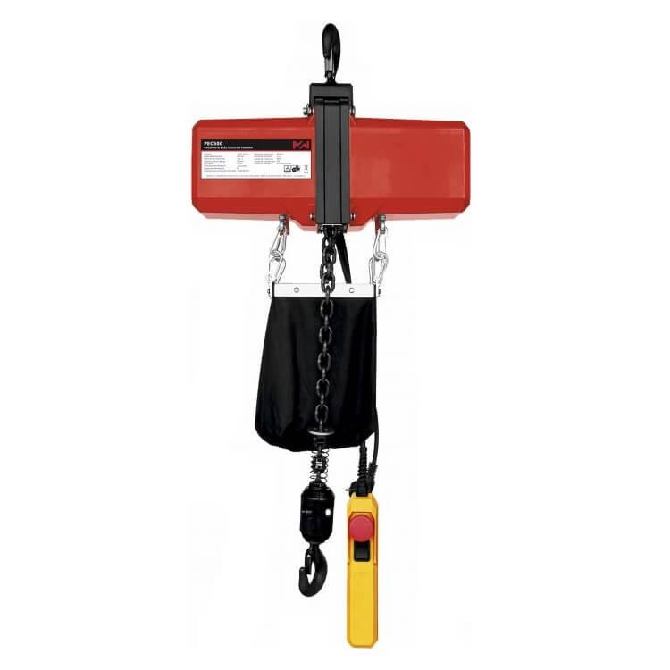 Polipasto eléctrico de cadena MetalWorks PEC150 - 150Kg