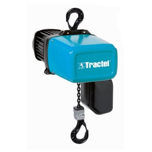 Polipasto eléctrico de cadena compacto TRALIFT TT 500 1R 1V