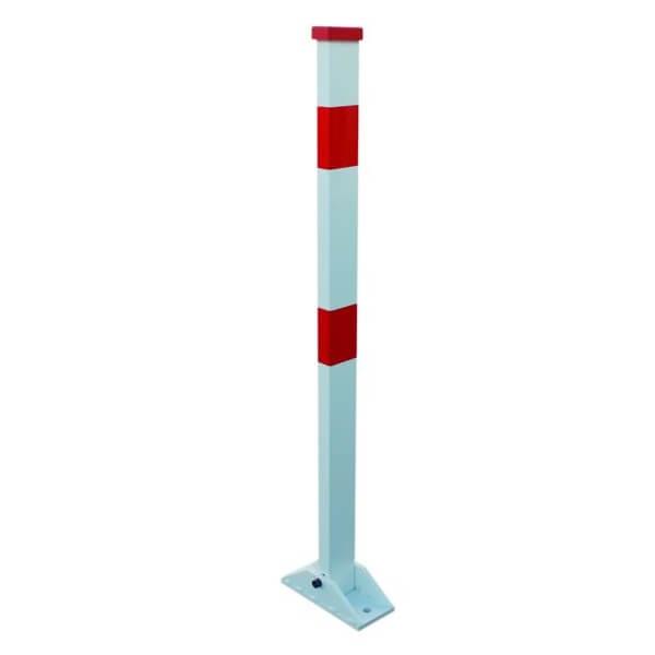 Poste de aparcamiento abatible con cerradura MetalWorks STOPOST - Referencia 758136910