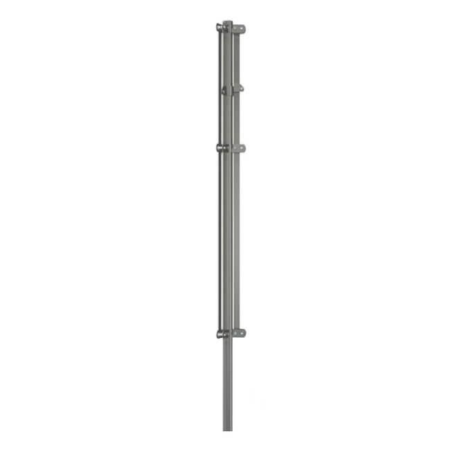 Poste tensor esquina de Ø48mm Mod. IT galvanizado - 1'00 metros