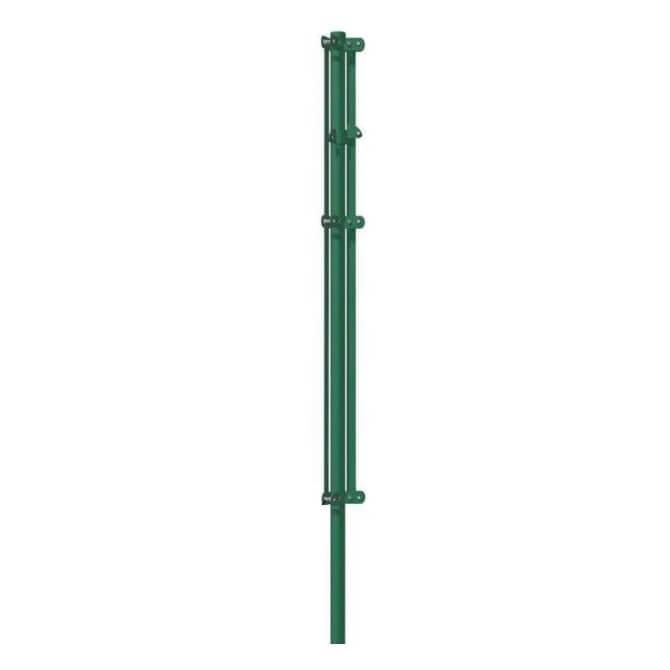 Poste tensor esquina de Ø48mm Mod. IT verde - 1'00 metros