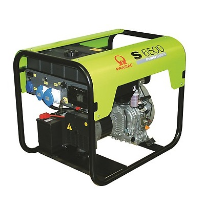 Generador Eléctrico Pramac S6500 motor Yanmar Diésel CONN + DPP - Monofásico