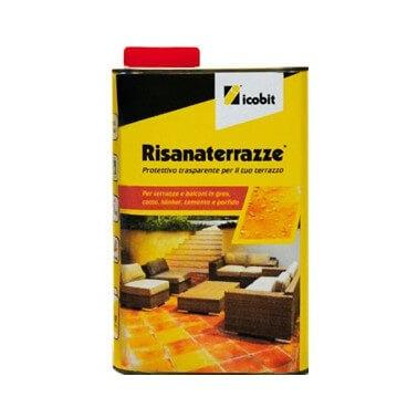Protector transparente impermeabilizante para terrazas Risanaterrazze - 1 litro