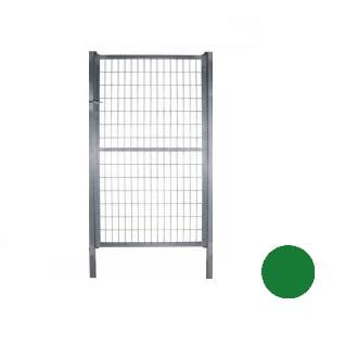 Puerta mallazo verde - 2'00 x 0'90 metros