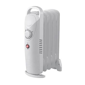 Radiador de aceite mini 5 elementos de 500W