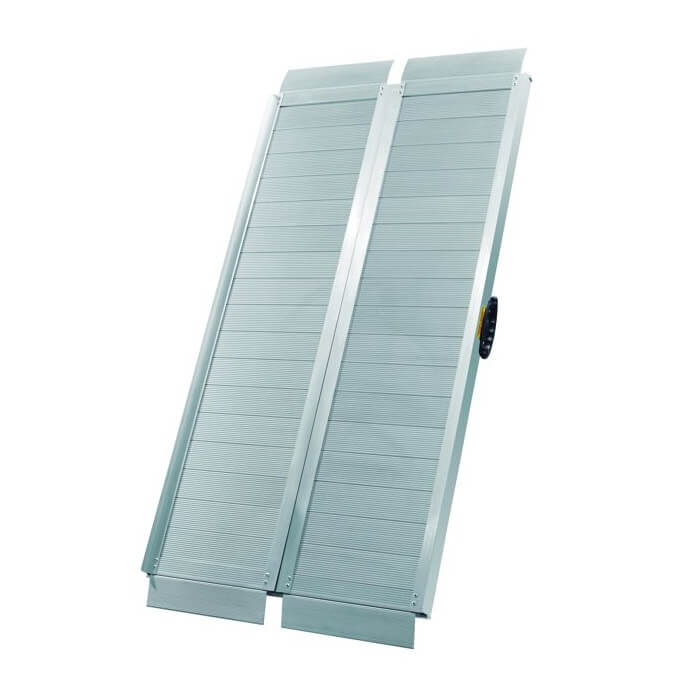 Rampa de carga plegable en aluminio MetalWorks RAMP125 (1220x710mm - 272kg) - Referencia 758133264