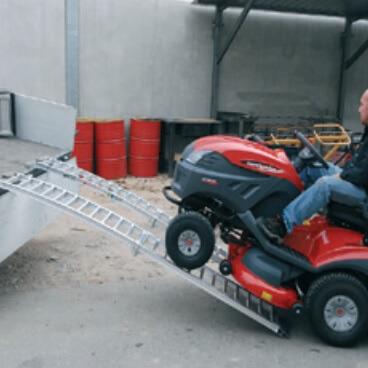 Rampas de carga extensibles en aluminio 50-18/10 (1000/1800mm - 300kg) - Referencia 2605018