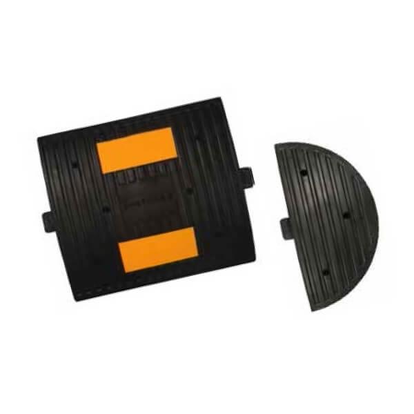 Reductor de velocidad con 2 reflectantes Mod. E de 30x33x4cm