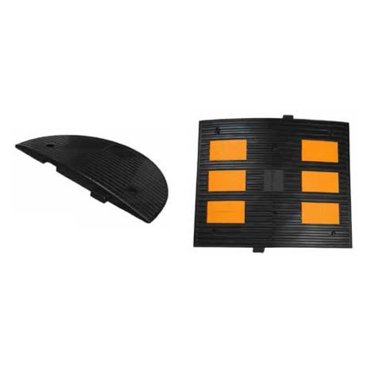 Reductor de velocidad con 6 reflectantes Mod. G de 60x50x4,5cm