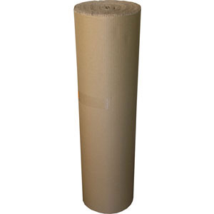 Rollo de cartón ondulado de 90cm x 25 metros (ecológico)
