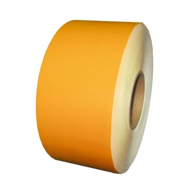 Cinta para marcaje de suelo Amarilla de 5 cm x 40 m x 1,2 mm