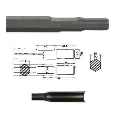 Rozador acanalador inserción Bosch UBH 12/50 de 300mm