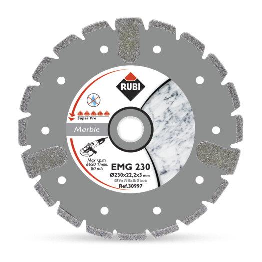 Disco Diamante Rubi Mármol Electrodepositado EMG 115 SUPERPRO