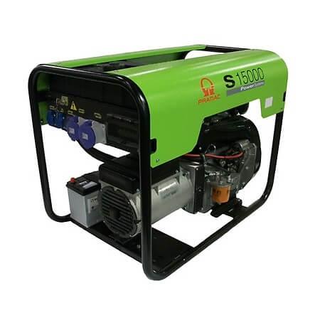 Generador Eléctrico Pramac S15000 con motor Lombardini Diésel - Monofásico