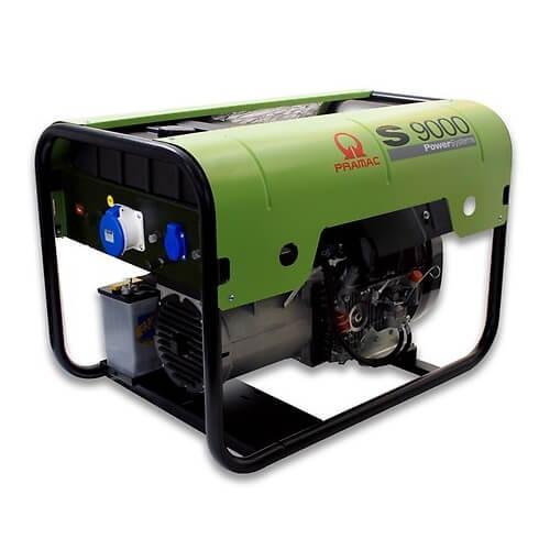 Generador Eléctrico Pramac S9000 con motor Lombardini Diésel - Monofásico