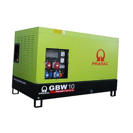 Pramac GBW 10 P Diesel MCP - Grupo electrógeno versión insonorizada - Referencia SB100TPAZ00